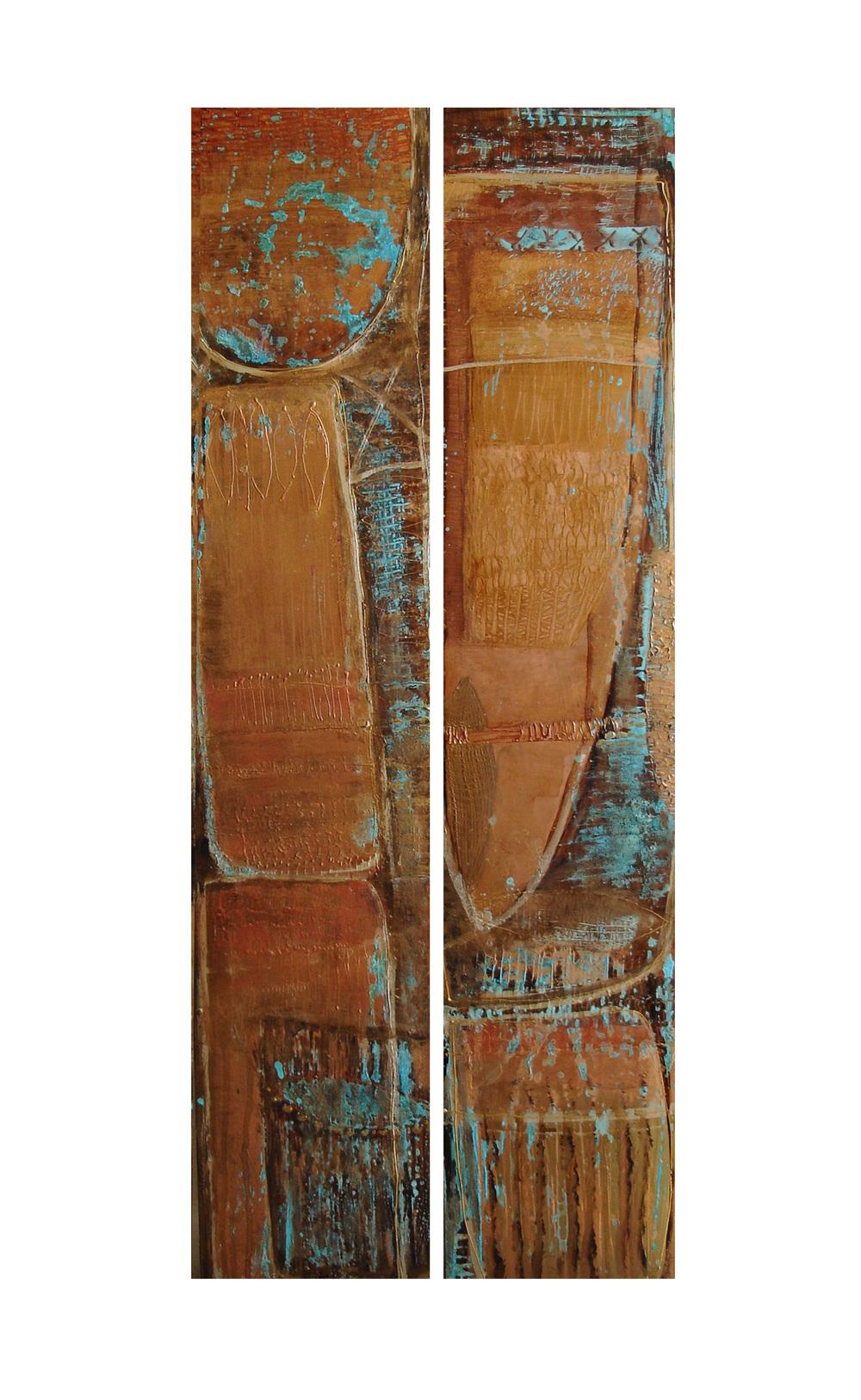Burkino Faso 18 x 92cm (each)