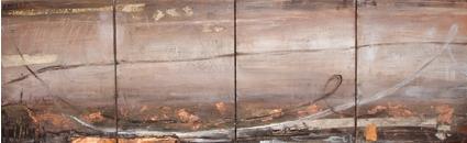 Copper Traces 20 x 30cm (each)