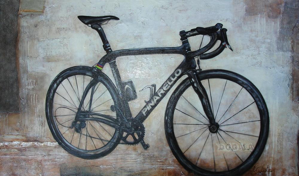 Il Ciclista, 92 x 152cm
