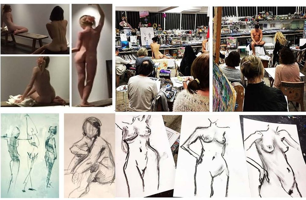 ADULT LIFE DRAWING WORKSHOPS -
