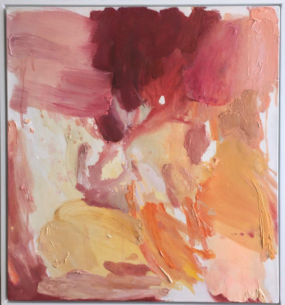 Rose Coloured, 64 x 69cm (Framed)