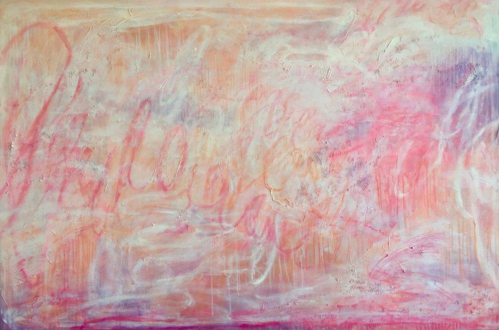 The Rhythm of the Heart, 168 x 102cm