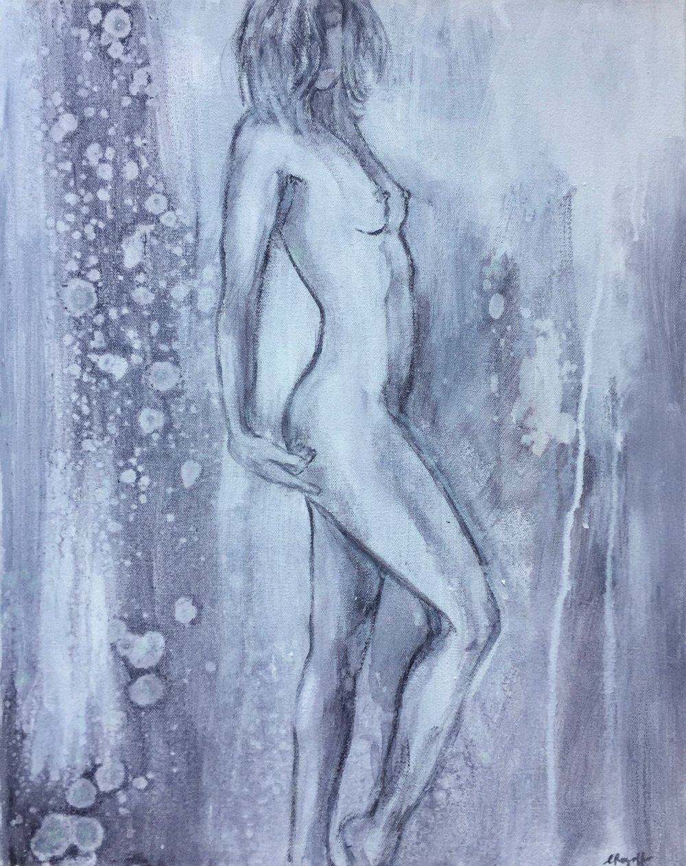 Body Soul 1, 40 x 50cm