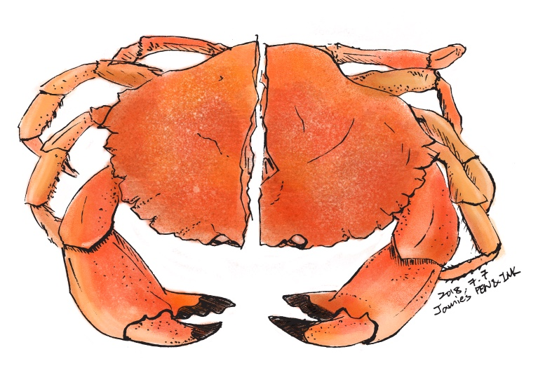 Crabs at The Buffet