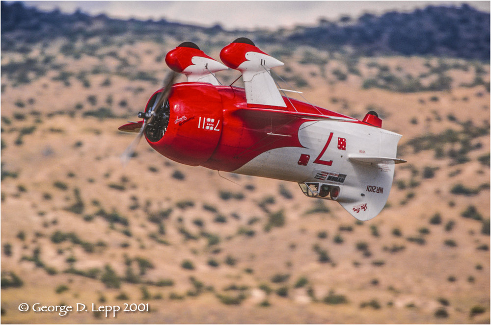 Gee Bee Replica stunt plane, Reno, NV.© George D. Lepp 2014 T-AI-AC-0001