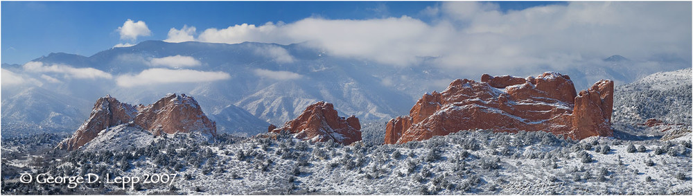 Garden of the Gods, Colorado. © George D. Lepp 2007  L-CO-CS-2002