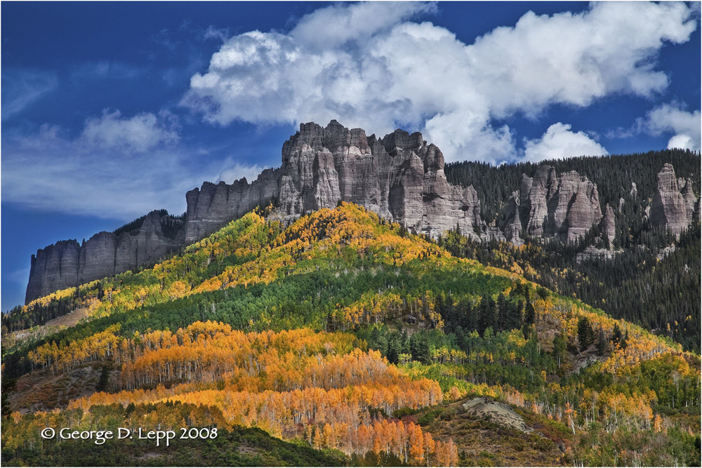 Owl Creek Pass, Colorado. © George D. Lepp 2008  L-CO-OW-0003
