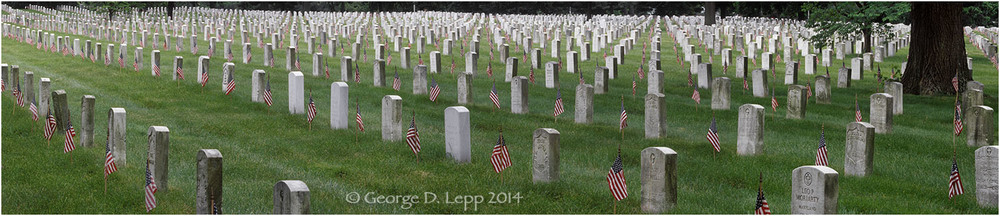 Arlington National Cemetery, D.C. © George D. Lepp 2014  L-DC-0012