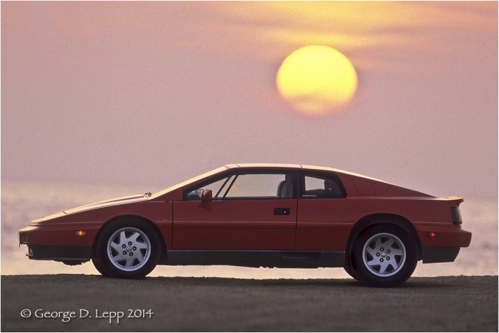 Lotus Esprit, Car and Driver Mag. © George D. Lepp 2014  T-CA-SP-2001
