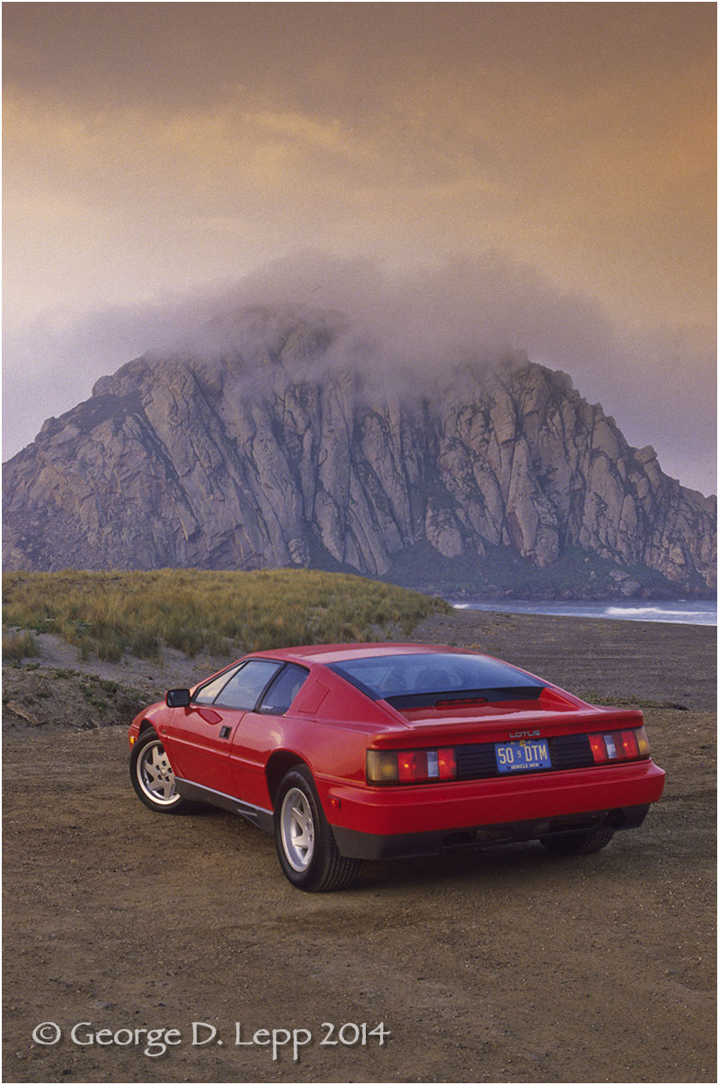 Lotus Esprit, Car and Driver Mag. © George D. Lepp 2014  T-CA-SP-2003