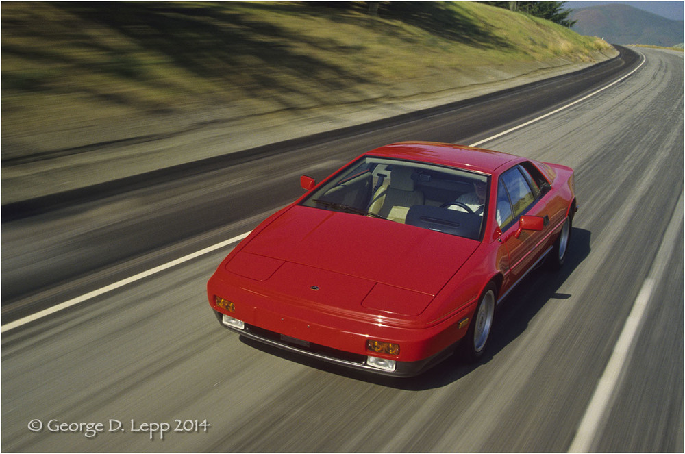Lotus Esprit, Car and Driver Mag. © George D. Lepp 2014  T-CA-SP-2002