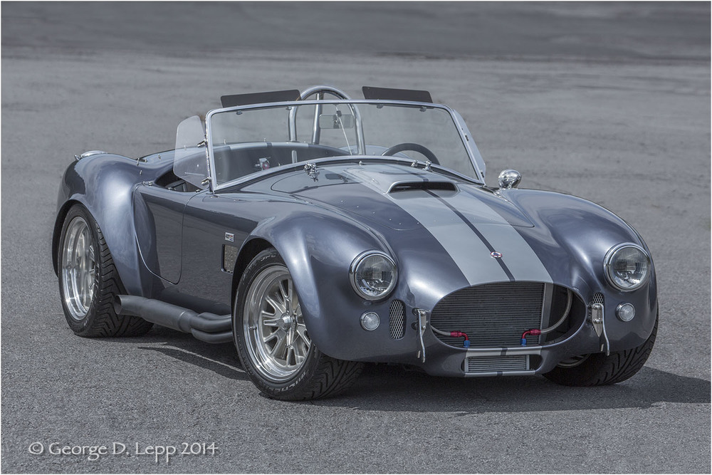 Ford Cobra Replica, © George D. Lepp 2014  T-CA-SP-4003