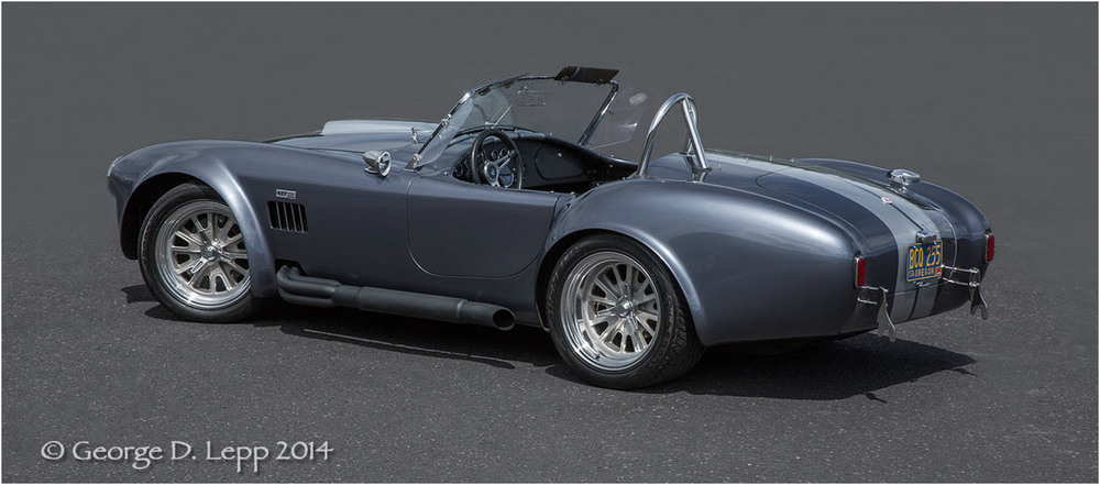 Ford Cobra Replica, © George D. Lepp 2014  T-CA-SP-4006
