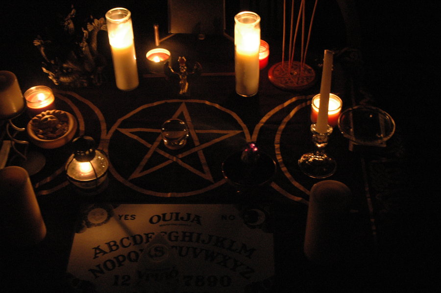 Reader submitted Samhain altar photo.