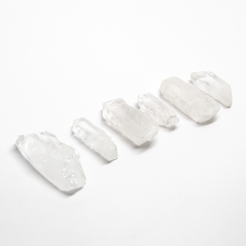 Clear Quartz Amplifying Set AVAILABLE HERE