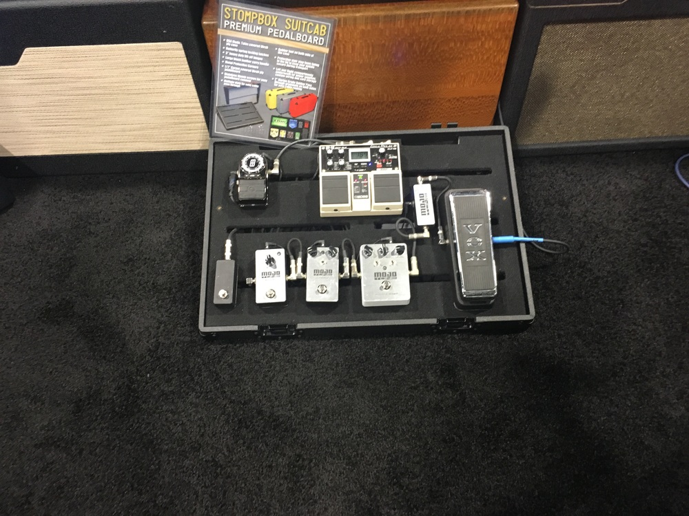 Mojo tone pedals.