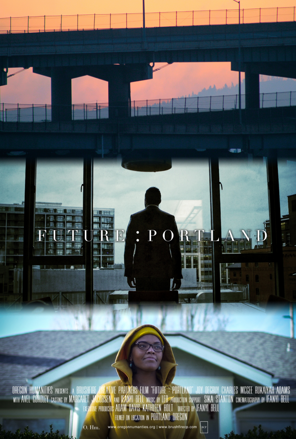 "The theatrical poster for the film. ""Future : Portland"" will be on display in Los Angeles in October. The New Urbanism Film Festival is Oct 8-11."