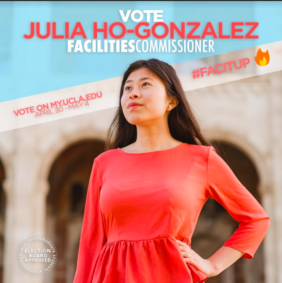 JULIA HO-GONZALEZ (INDEPENDENT)