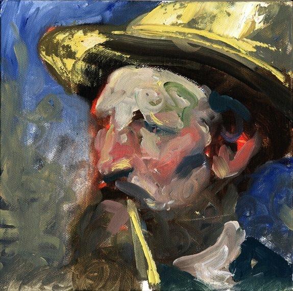 Vincent's Straw Hat
