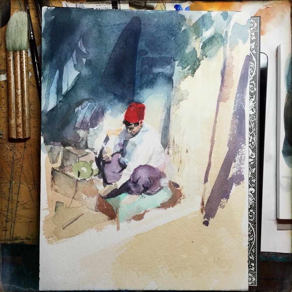 Fez - Watercolor 007.JPG