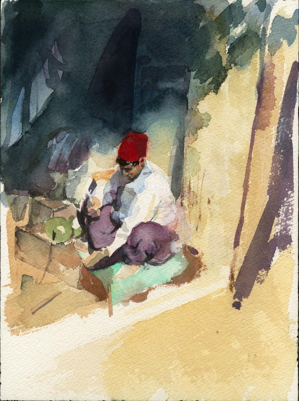 Fez - Watercolor.jpg