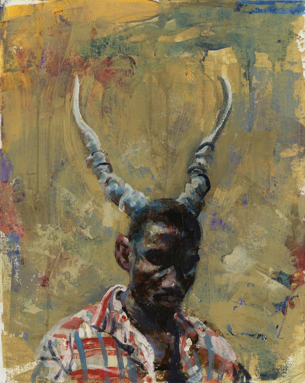 West African Devil - Oil - 16 x 20.jpg