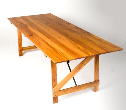 recycled rimu trestle table - 2200mm(L) x 900mm(W) x 700mm(H) -3.jpg