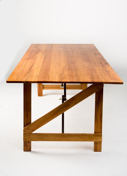 recycled rimu trestle table - 2200mm(L) x 900mm(W) x 700mm(H) -5.jpg