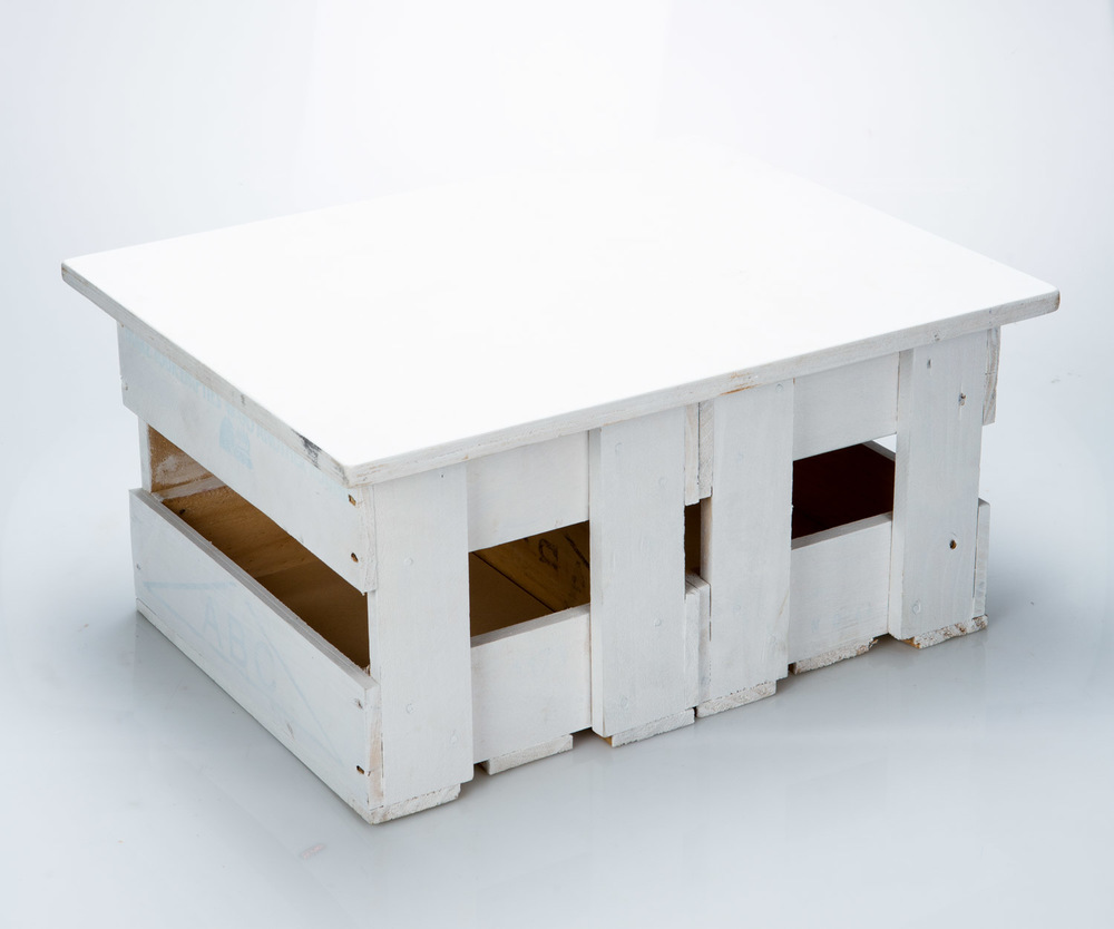 DOUBLE ABC CRATE TABLES WITH FLIP TOP LID  - made by Wildernest