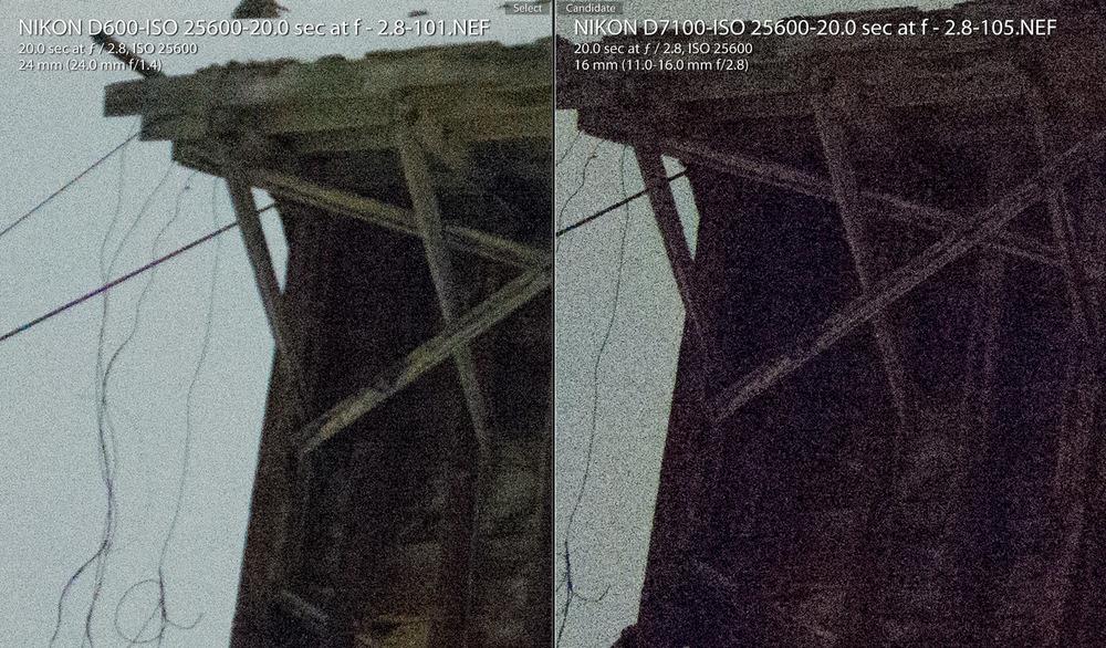 Nikon D7100 - Cropped Sensor for Night Photography?