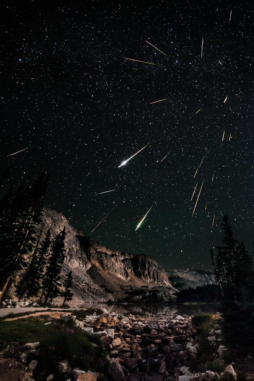 Eta Aquarids Meteor Shower & How to Create a Layered Composite Meteor Shower Image