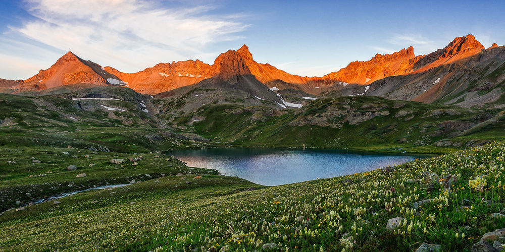 Ice Lakes Basin Sunset