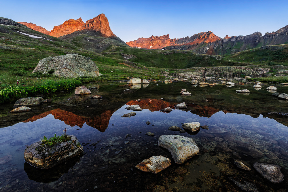 Ice Lakes Basin Reflection-2