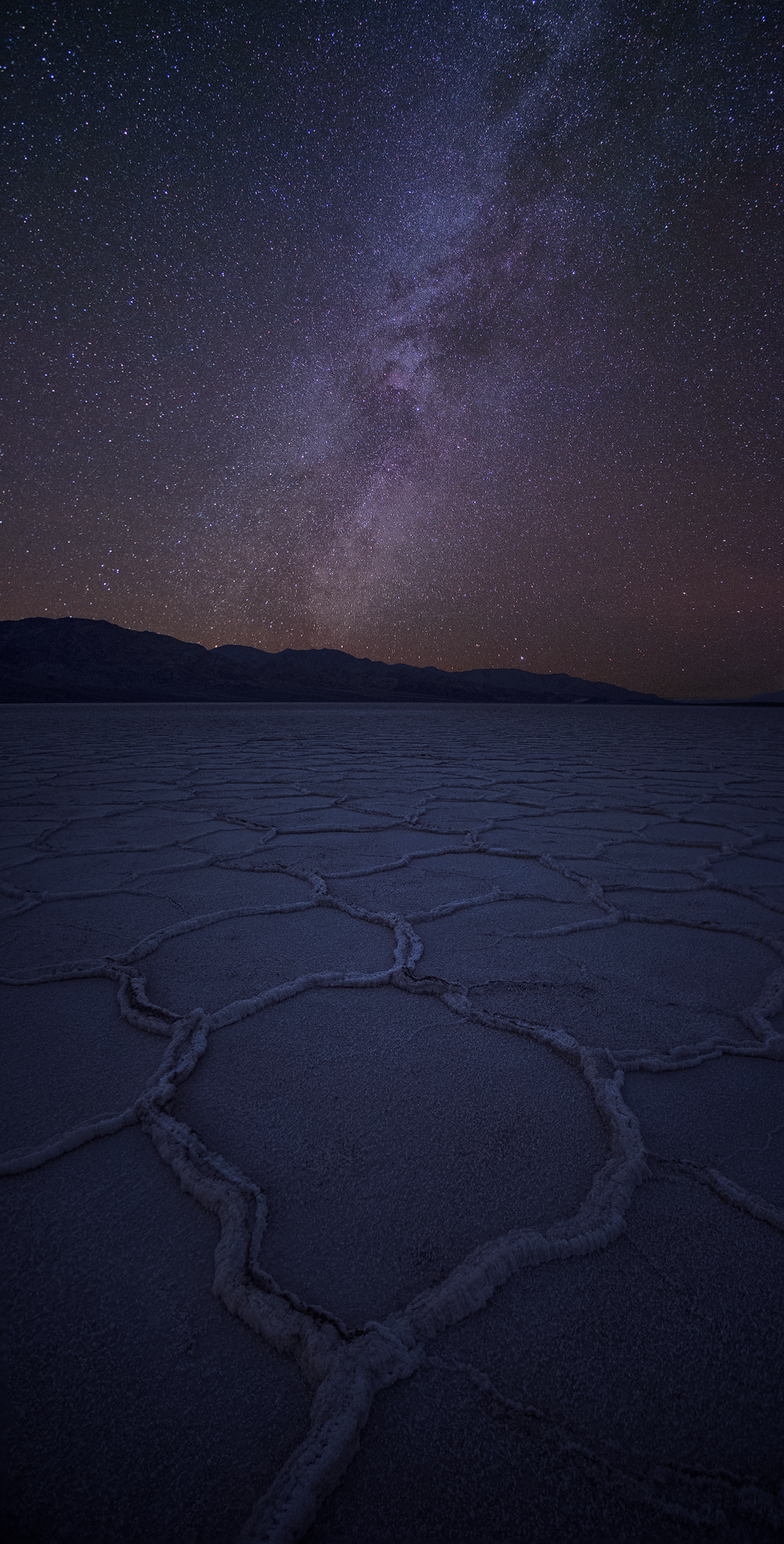 death valley badwater milky way