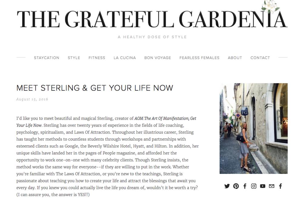 Read more: www.gratefulgardenia.com