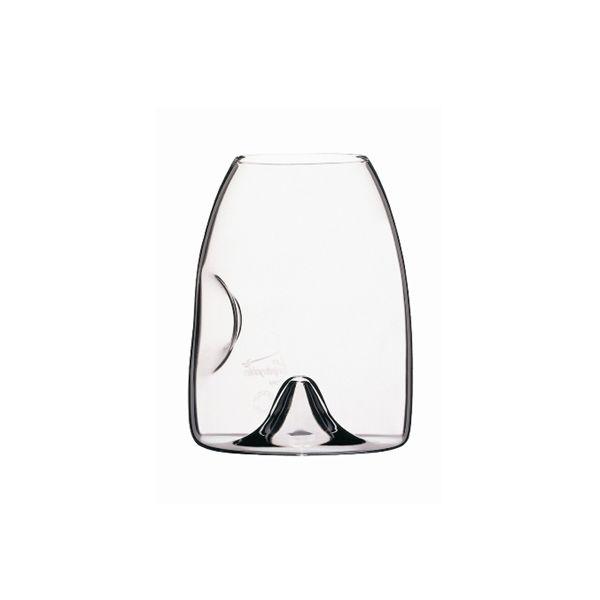 PeugeotLes Impitoyables Le Taster Universal Tasting Glass 在最短的时间里得到最多的香气,可以使用食指和拇指握住酒杯避免手的温度传递到葡萄酒里加热葡萄酒,底部凸起的设计让葡萄酒可以更好滴接触空气。