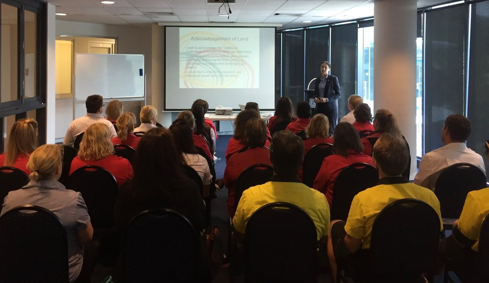 Aboriginal Cultural Awareness for Workplaces delivered to groups of up to 25