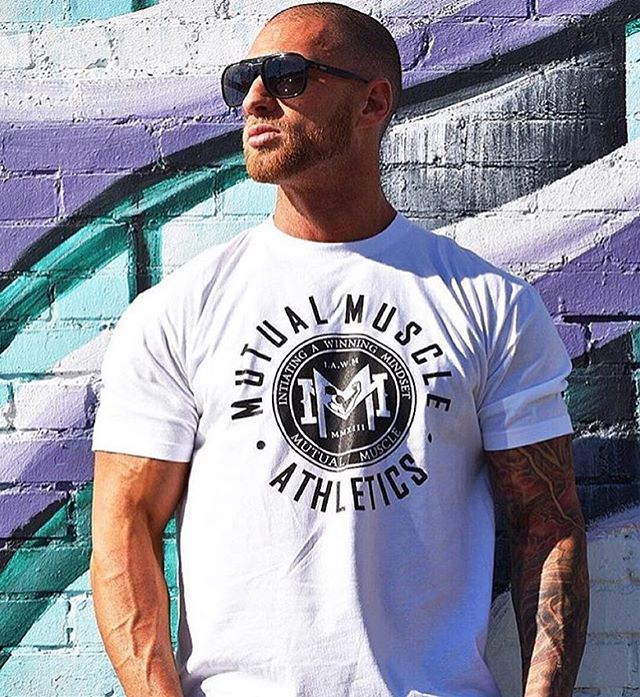 Sharp as a thumbtack🔑  MM Athletic Crew  Shop Today www.mutualmuscle.com