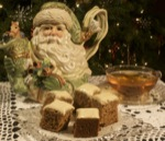 Glazed Gingerbread Tea Cake