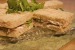 Roast Beef Tea Sandwiches