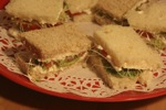 California Tea Sandwiches