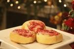 Raspberry Cream Cheese Puffs