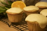 Fresh Orange Cupcakes