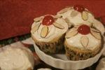 Amaretto Cream Cupcakes
