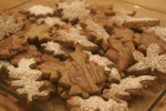 Cinnamon Leaf Cookies