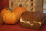 Pumpkin Swirl Quick Bread