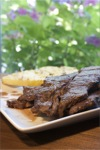 Marinated Short Ribs with Grilled Pineapple