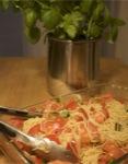 Broiled Tomato Pasta