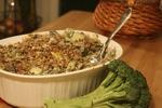 Broccoli Mushroom Kugel