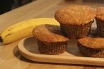 Fresh Banana Muffins